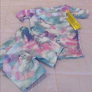 The Children's Place girls toddler pajama set
